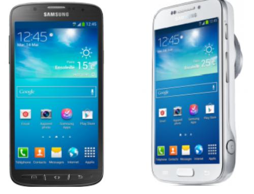 2 nouveaux modèles Samsung Galaxy S4 Active et Zoom en promo chez Virgin